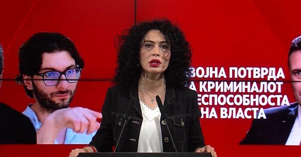 Лашкоска: Дека власта предводена од Зоран Заев, аболицираниот криминалец е класичен криминален картел, веќе нема дилеми