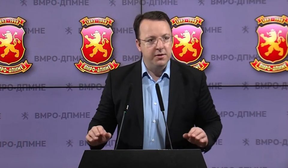 СЛЕДЕТЕ ВО ЖИВО: Прес-конференција на потпретседателот на ВМРО-ДПМНЕ, Александар Николоски