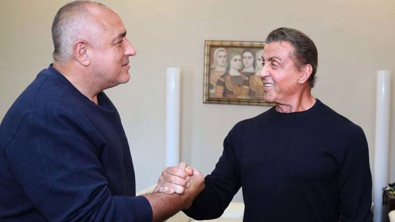 Борисов до Силвестер Сталоне: Ти се уште си истиот Рамбо (ВИДЕО)