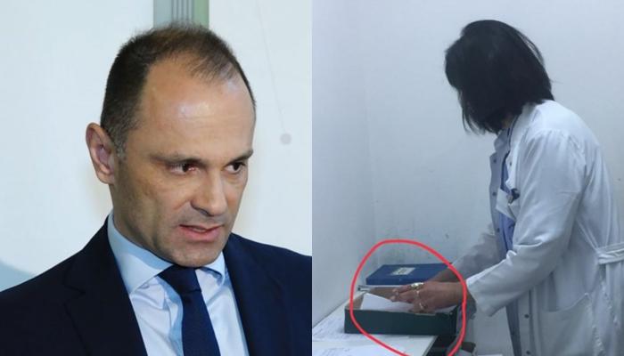 Медицински персонал пуши цигари среде болница во Гостивар- пациентите гневни на министерот за здравство кој мува не го лази (ФОТО)