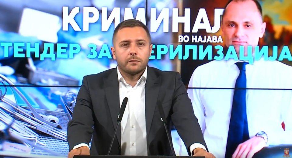 Арсовски: Филипче веднаш да објасни која е поврзаноста помеѓу него, луѓе од Владата на Заев и скандалозниот бизнисмен Илир Рапај