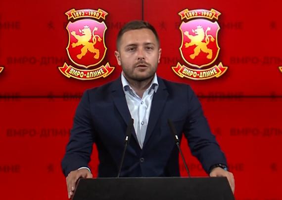 Арсовски: Заев и СДСМ се обидуваат скандалот со Тошевски да го сокријат под тепих