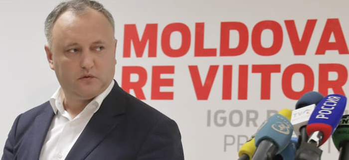 Уставниот суд на Молдавија го разреши претседателот Игор Додон