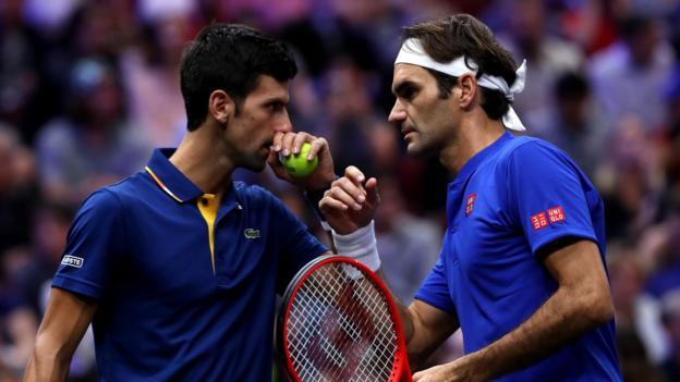 Ѓоковиќ: Федерер е најголемиот играч на сите времиња