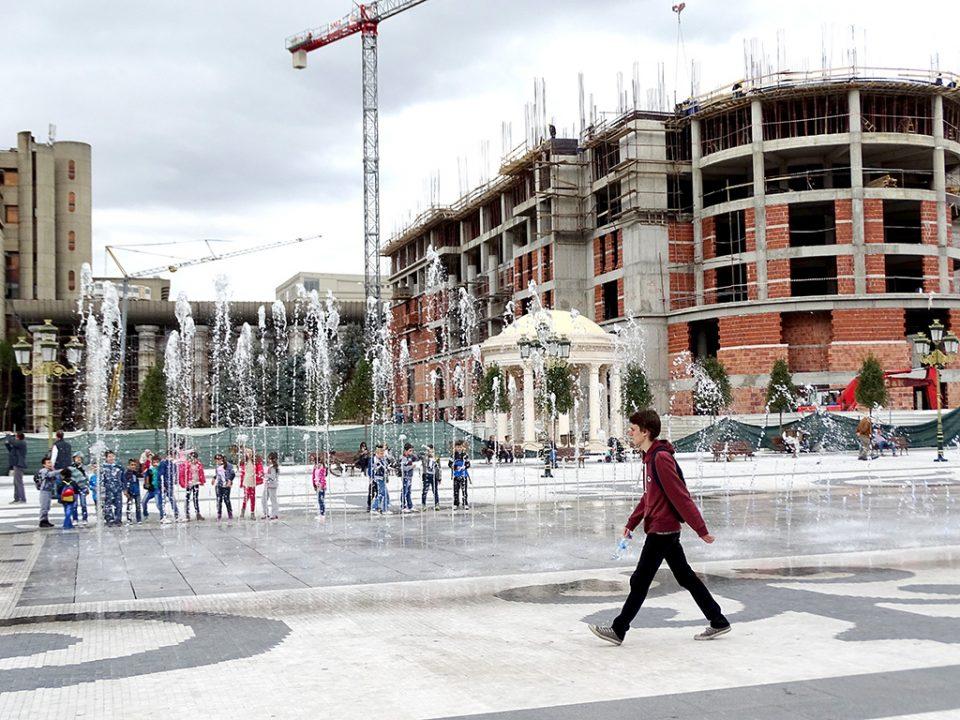 Фонтаните од Скопје ја преплавија сметката на една скопска компанија