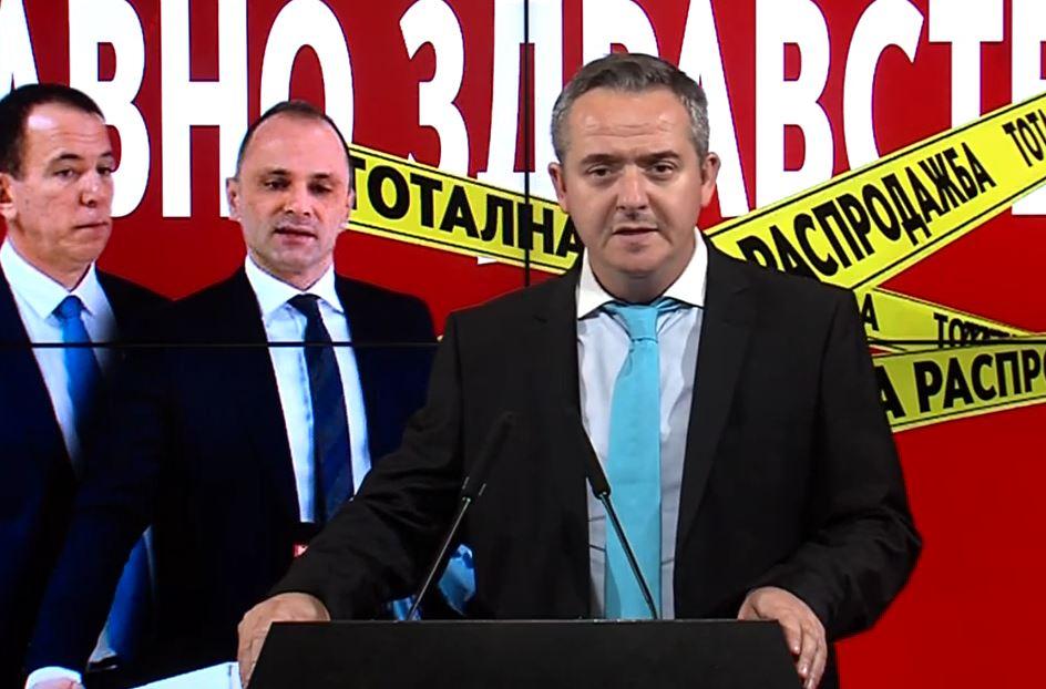 Николов: Дали Дончев ќе ги наполни џебови и потоа со странскиот пасош ќе замине од Македонија?