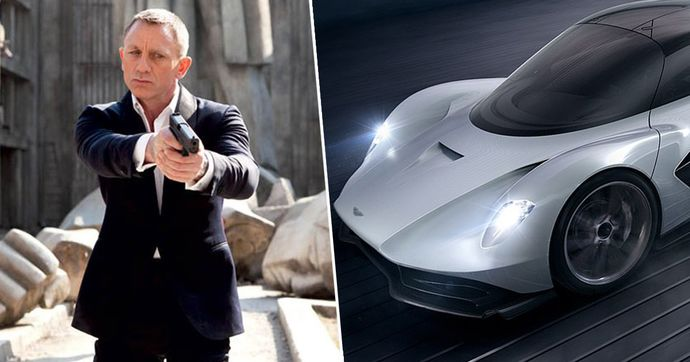 Бонд има нов автомобил: Aston Martin Valhalla