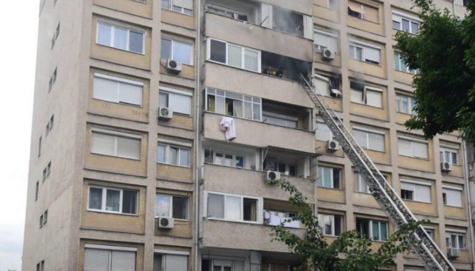 Темелковски: Граѓаните чии станови изгореа ќе бидат обештетени поради пожарот
