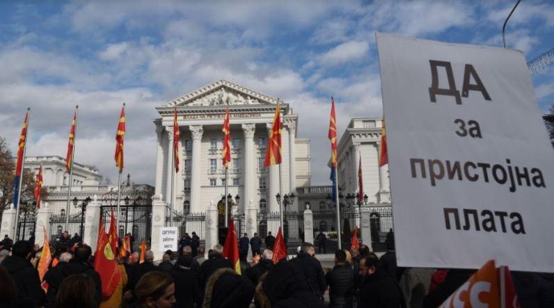 Конфедерација на слободни синдикати со нов протест во сабота