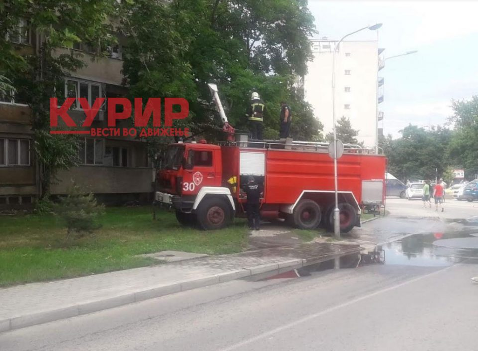Единаесеттемината затруени со чад во пожарот во Кисела Вода во стабилна општа состојба
