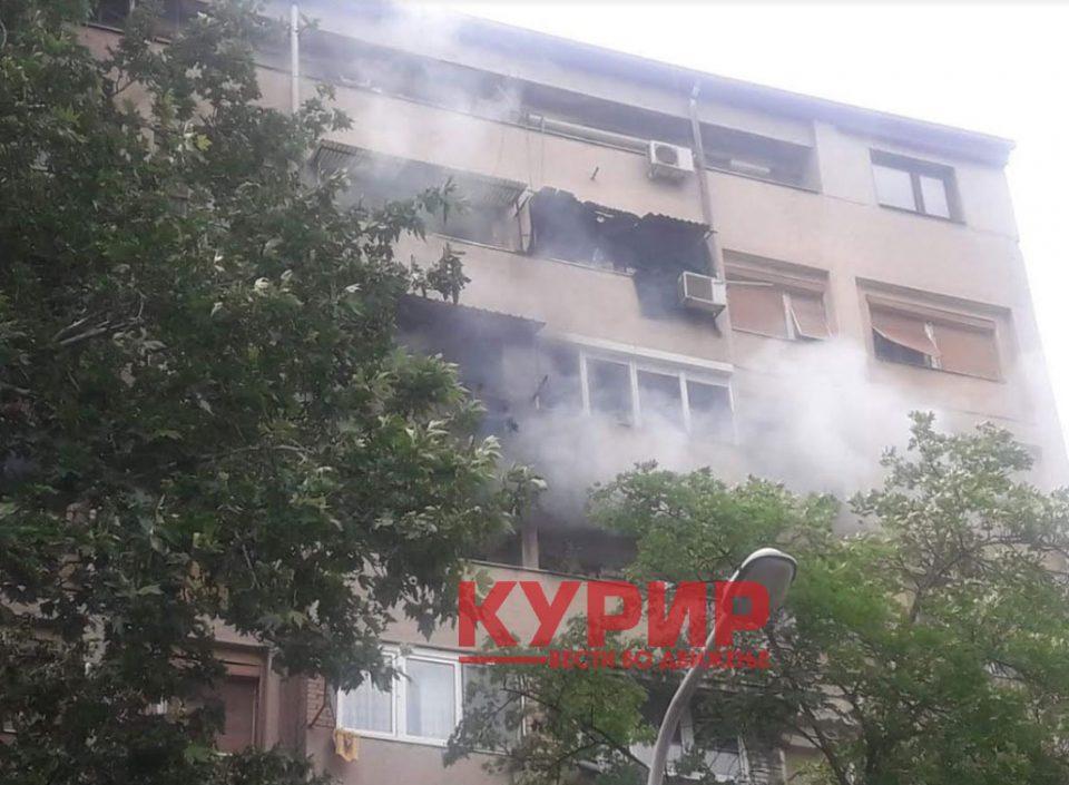 Уште не се извлечени надвор сите станари од зградата која гореше во Кисела Вода