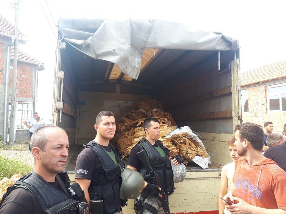 Финансиска полиција се огласи по вчерашната акција во Љуботен