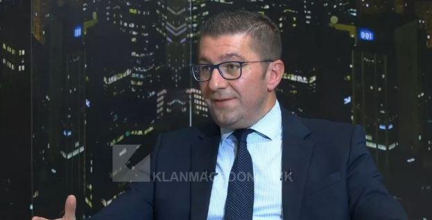 Мицкоски: Заев постигна договор со Грција за да биде премиер и да се спаси од затвор и за да има тендери во 4 очи