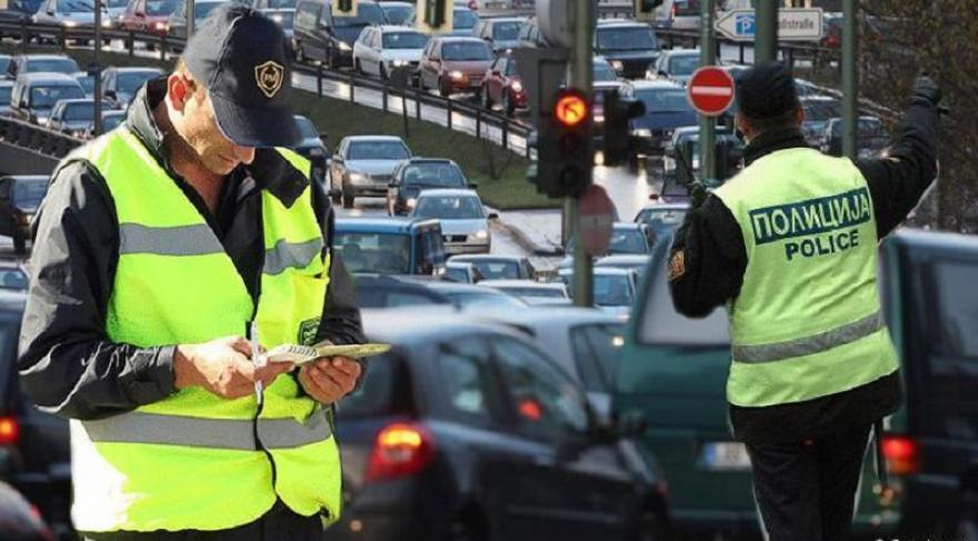 158 санкционирани возачи во Скопје, 73 за брзо возење
