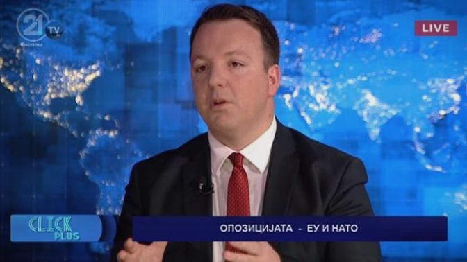 Николоски: Голема грешка на македонската дипломатија е што Македонија ја стави заедно во пакет со Албанија за влез во ЕУ