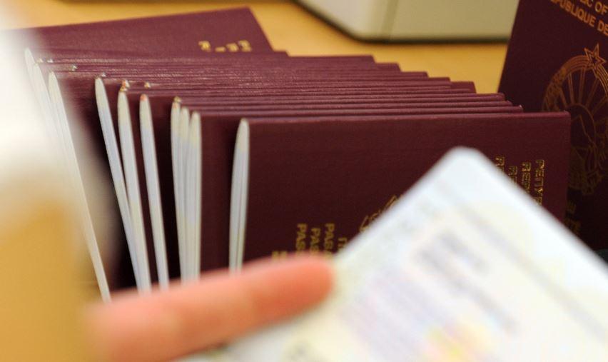 Пристигнаа новите обрасци за пасоши