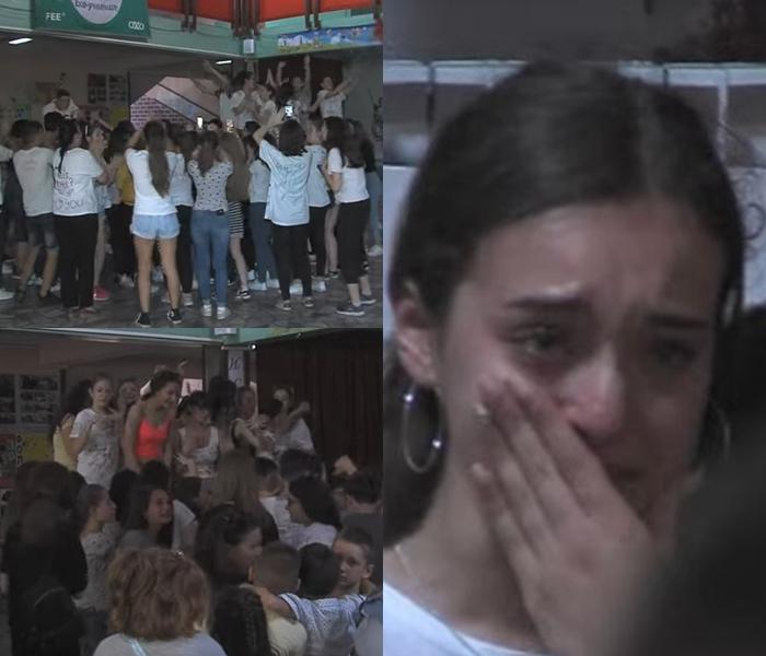 Полуматурантите со трубачи, ора и солзи не сакаат да завршат основно образование- Вака во Македонија започна школскиот распуст (ВИДЕО)