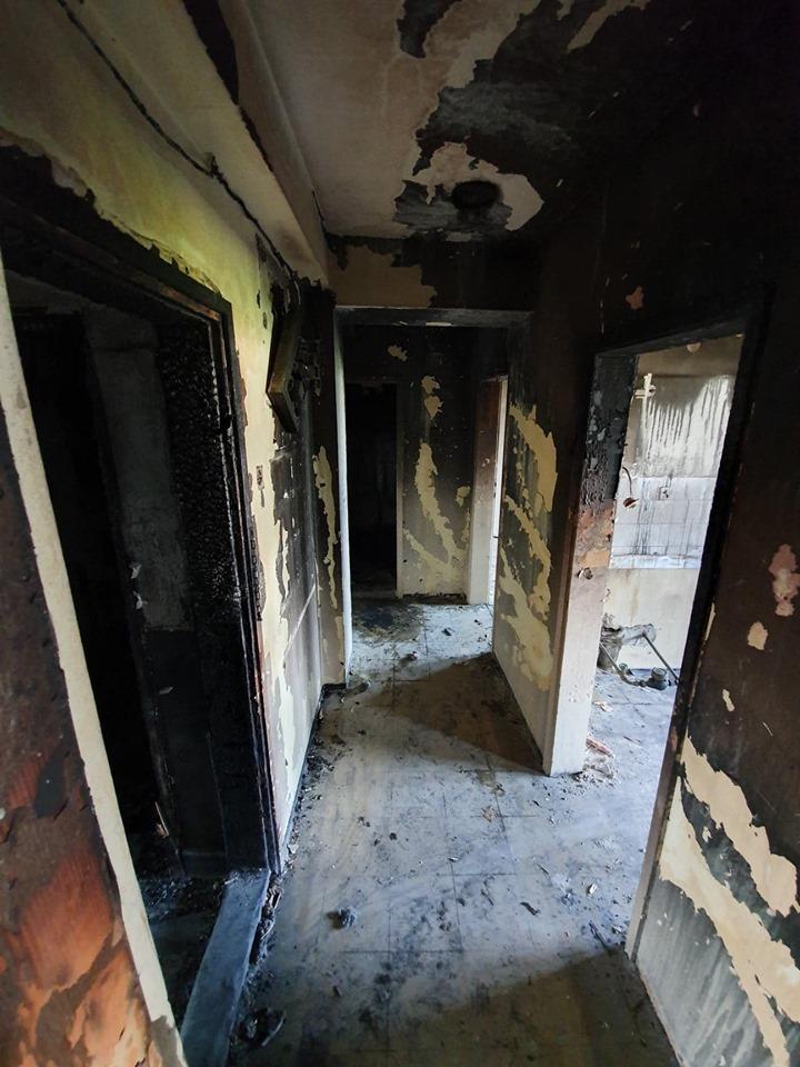 Апел за помош: Потребни се пари за обновување на станот кој целосно изгоре во Кисела Вода