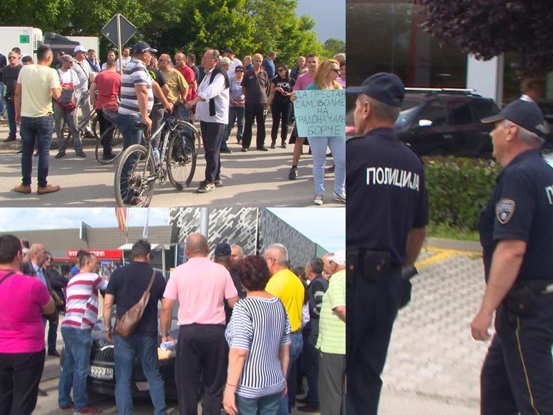 """Граѓаните по втор пат кажаа големо """"НЕ"""" за Центарот за зависници да се префрли во Гази Баба- полицијата одби да спречи физички инциденти (ВИДЕО)"""