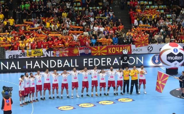 Македонија во Групата Б на Европското ракометно првенство