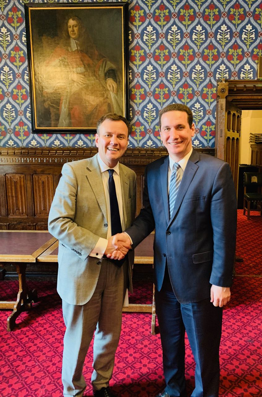 Ѓорчев во Лондон се сретна британски парламентарци и генералниот секретар на ИДУ