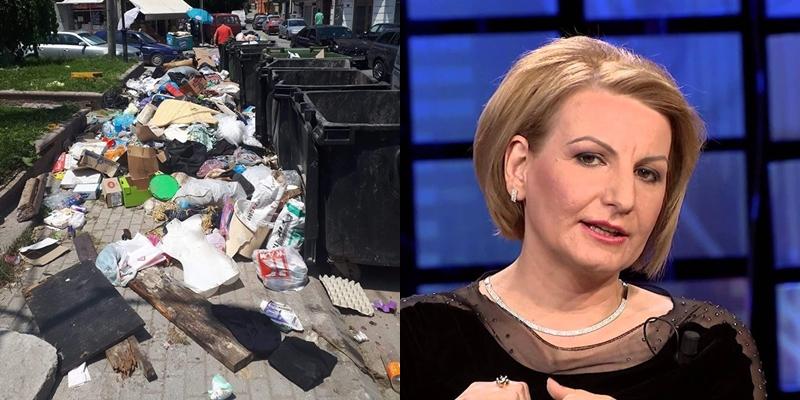 """Тетово тоне во ѓубре, жителите гневни на Теута Арифи која мува не ја лази: """"Малку е ова за Тетово, европска градоначалничка имаат"""" (ФОТО)"""