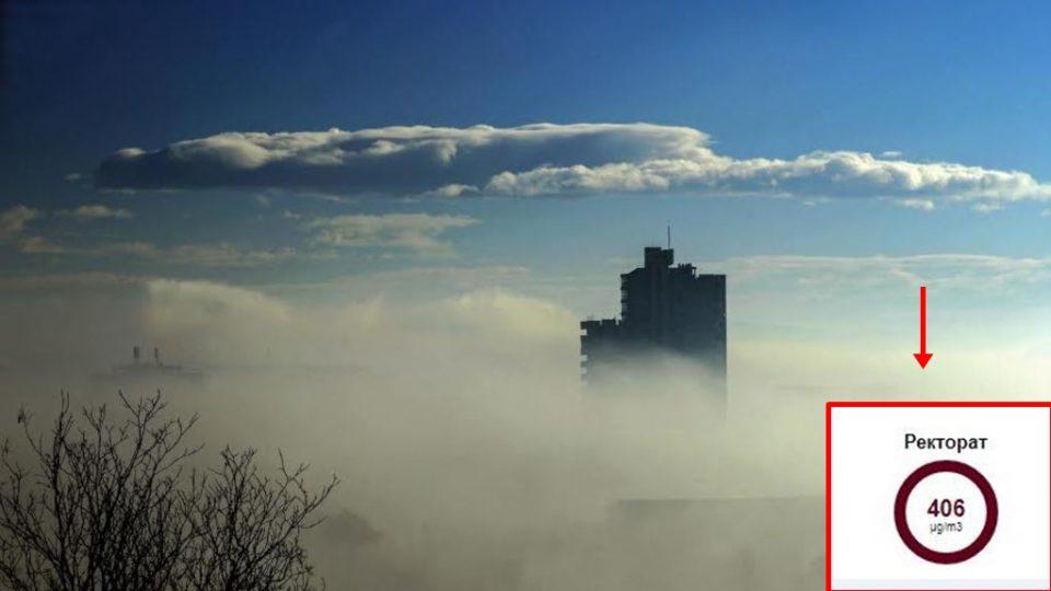СКОПЈЕ СЕ ГУШИ: Денес енормно висока загаденост во центарот на градот, слично во Кочани и Битола, власта мува не ја лази (ФОТО)