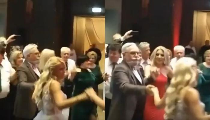 Самарџиќ играше оро до невестата, Владо Горгиев со оваа песна му поска среќен брак- се ожени македонскиот менаџер Кристијан (ВИДЕО)