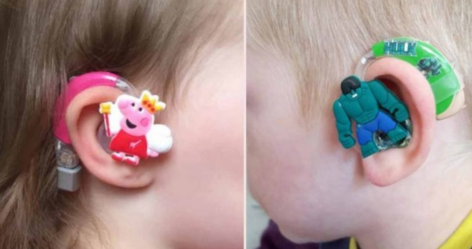 Нејзиното дете е со оштетен слух, но не го сакало апаратчето: Тогаш мајката смисли нешто прекрасно (ФОТО)
