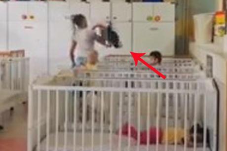 За малку ќе му ја откинеше раката: Воспитувачка во Србија се однесува неодговорно кон децата (ВИДЕО)