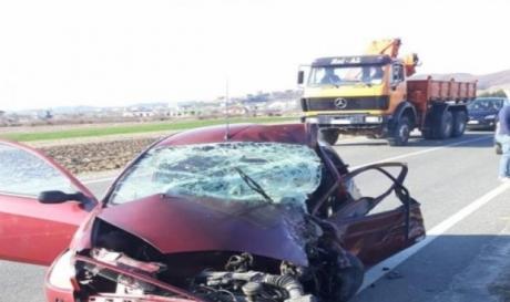 Камион удрил во автомобил – Македонец учествувал во сообраќајка во Албанија