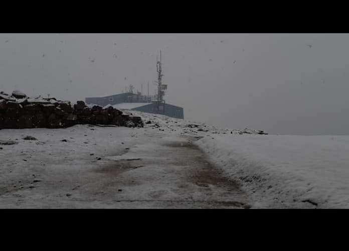 (ФОТО) Снег среде јули во Бугарија
