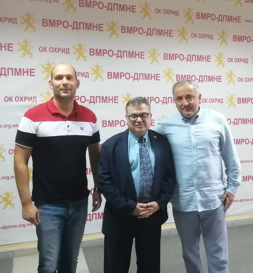 Францускиот амбасадор Тимоние се сретна со Донев и Милошевски