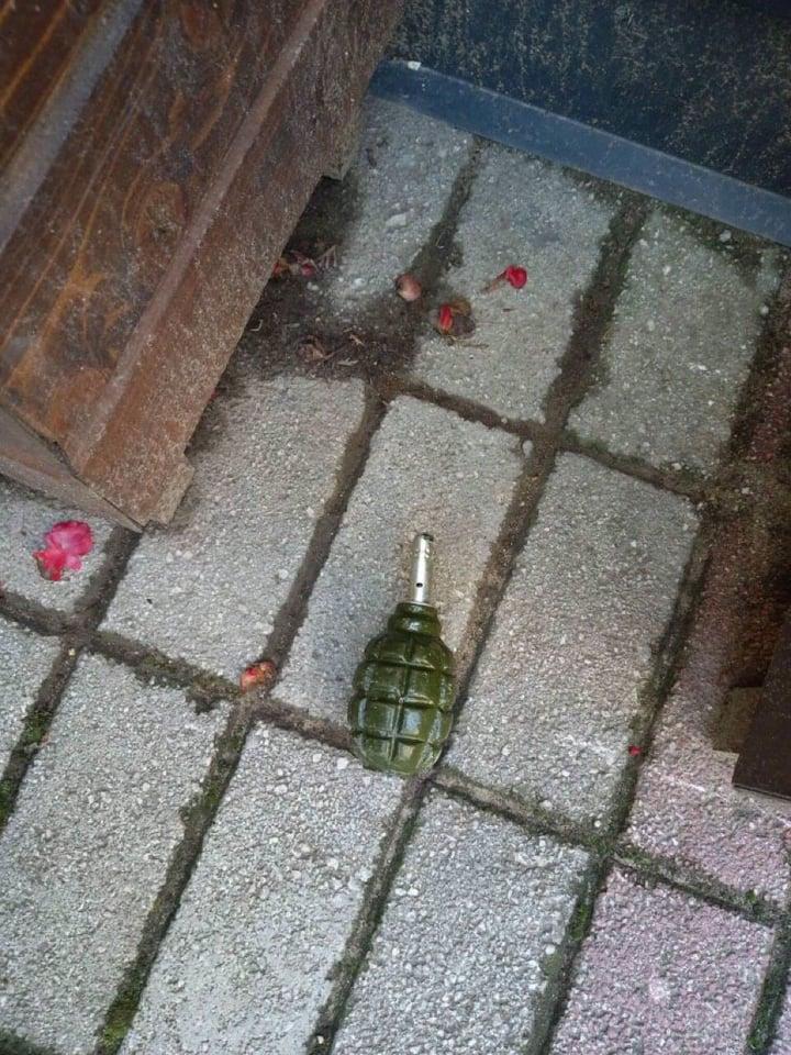 Бомбата која беше пронајдена пред кафуле во Прилеп предадена на вештачење