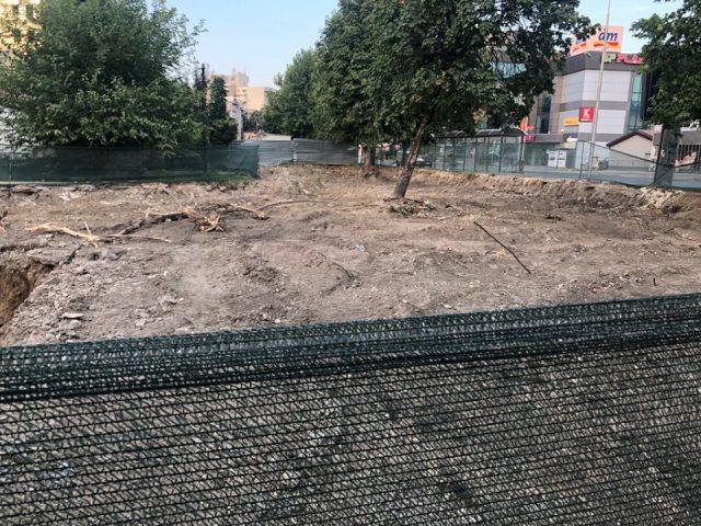 Спорната зграда во паркот во Ѓорче Петров почна да се гради