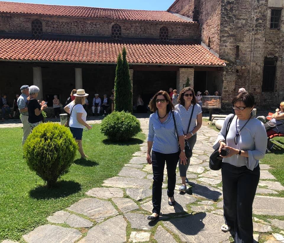 Американската амбасадорка Брнс го посети Охрид и ги фотографираше убавините (ФОТО)