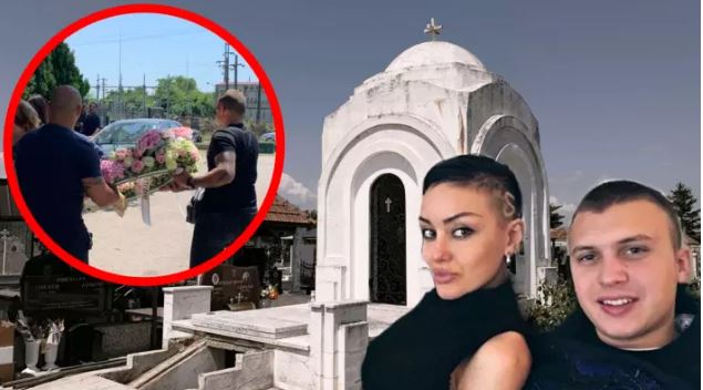 Потресни сцени од погребот на манекенката: Кога ќе видите што и донесе за последен поздрав поранешниот свршеник ќе ве облеат емоции