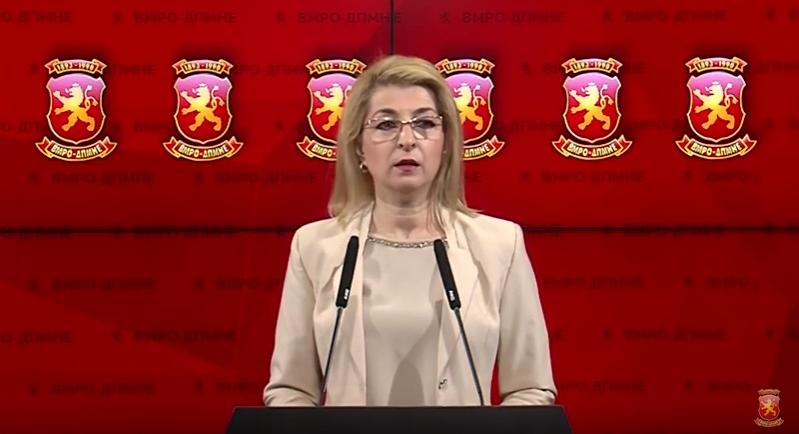 Ласовска: Заев ја штити Јанева бидејќи му е најефикасна алатка за политички прогон, одговорност мора да има