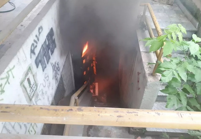Пожар избувна во Кисела Вода (ФОТО+ВИДЕО)