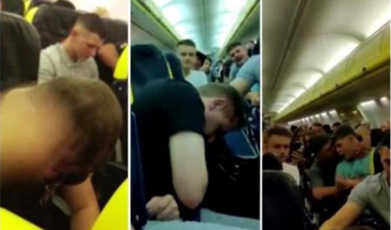 Патниците преживеале пекол во авион: Пијани момчиња повраќале, паѓале, беснееле… (ВИДЕО)