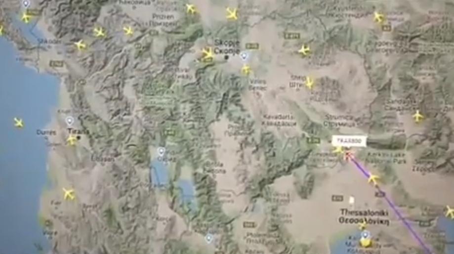 ВИДЕО: За малку избегнат судир на македонското небо – поради грешка на властите