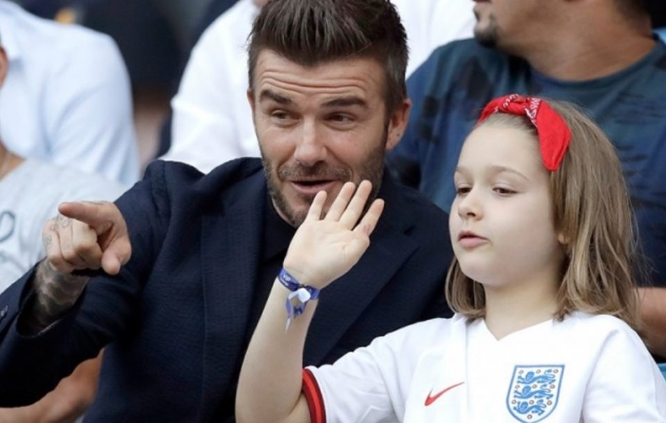 Дејвид Бекам стана мета на критики поради ваквиот бакнеж со својата ќерка (ФОТО)