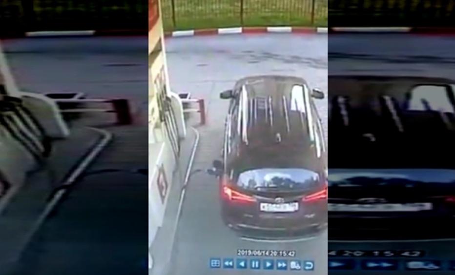 Полнеше бензин, па џипот почна да вози сам: Што сакаше да направи оваа жена? (ВИДЕО)