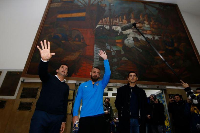 Официјално: Де Роси е фудбалер на Бока Јуниорс (ФОТО)