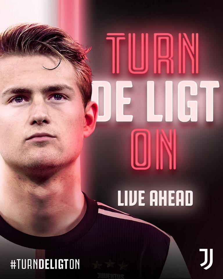 Јувентус официјално го објави трансферот на Де Лихт