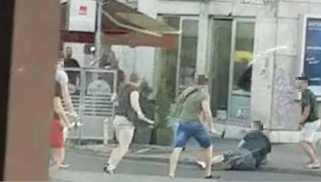ВИДЕО: Крвава пресметка на навивачки групи во Загреб