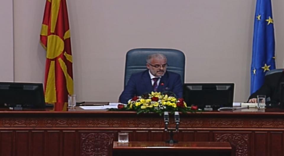 Седницата за законот за СЈО од Владата на 27 август
