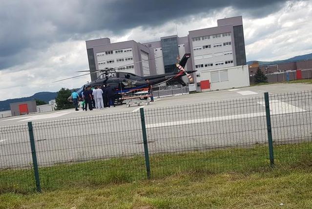(ВИДЕО) Борба со времето: Кузмиќ со хеликоптер итно пренесен во Белград