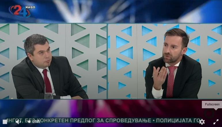 Димовски: Прашање е дали нашиот премиер може да ја обавува својата функција и да поседува безбедносен сертификат