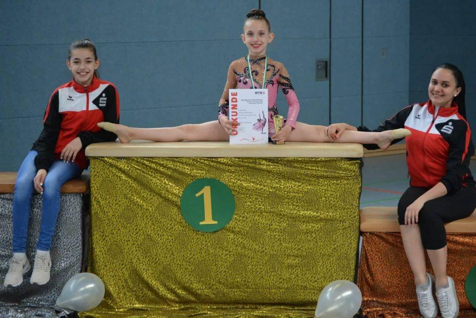 Македонски девојчиња: Сестрите Илина и Ева едни од најдобрите во ритмичка гимнастика (ФОТО)